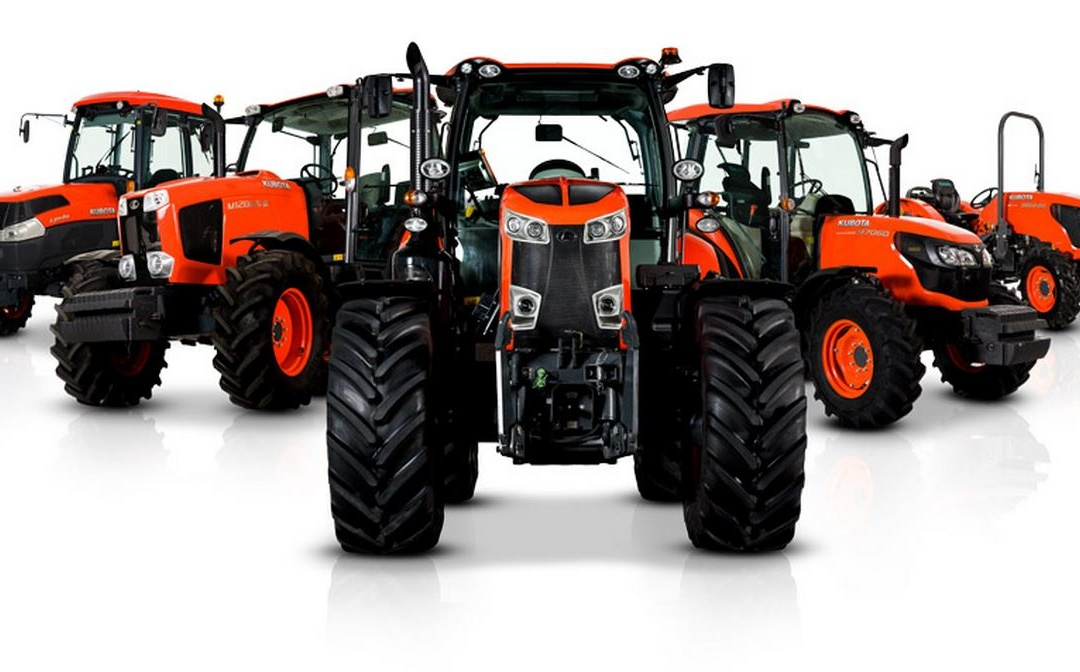 Współpraca z producentem ciągników i maszyny rolniczych firmą KUBOTA.